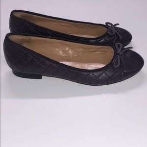Talbots quilted flat shoes size 6 1/2